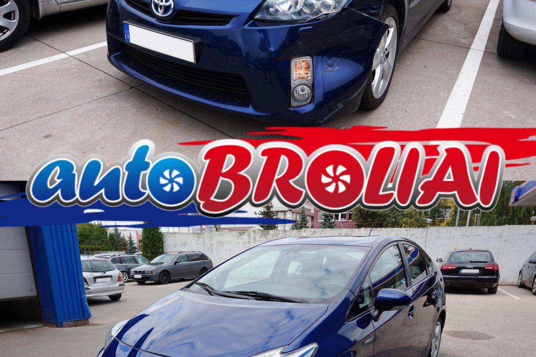 Autobroliai | automobilio remontas prieš ir po